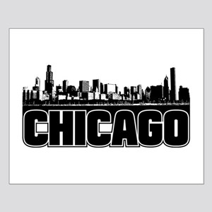 Chicago Skyline Small Poster