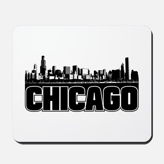 Chicago Skyline Mousepad