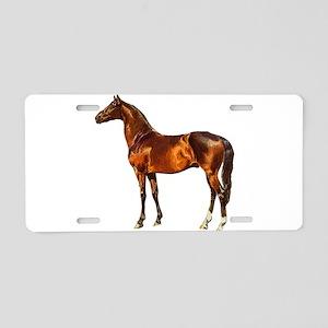 Stallion Horse Aluminum License Plate