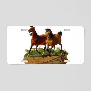 Mustang Horses Aluminum License Plate