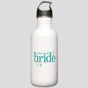 Mother of the Bride Swirl Stainless Water Bottle 1