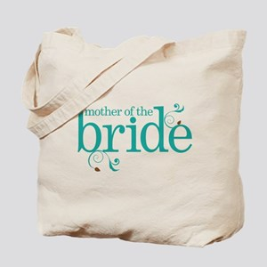 Mother of the Bride Swirl Tote Bag