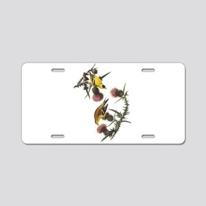 American Goldfinch Aluminum License Plate