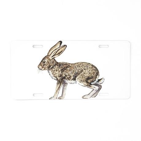 Jack Rabbit Aluminum License Plate
