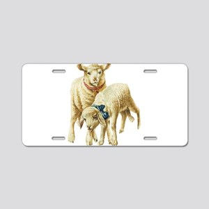 Lamb drawing Aluminum License Plate