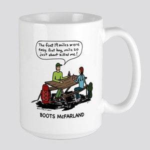 Large Boots Cartoon Mug