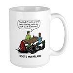 Large Boots Cartoon Mug