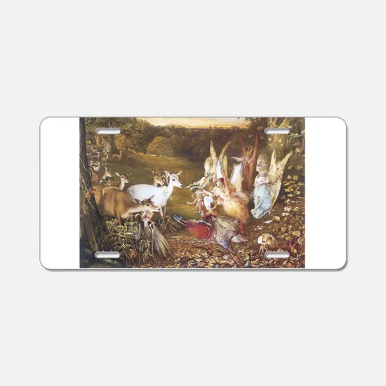 The Enchanted Forest Aluminum License Plate