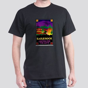 Eagle Rock, Center for the Ar Dark T-Shirt