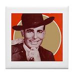 Bob Wills Classic Tile Coaster