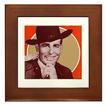 Bob Wills Classic Framed Tile