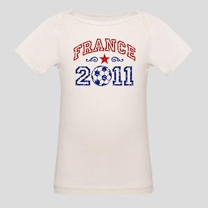 France Soccer 2011 Organic Baby T-Shirt