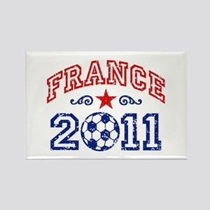 France Soccer 2011 Rectangle Magnet
