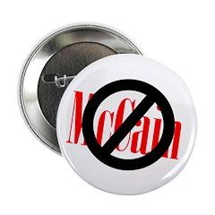 Ten Discount Stop McCain Buttons