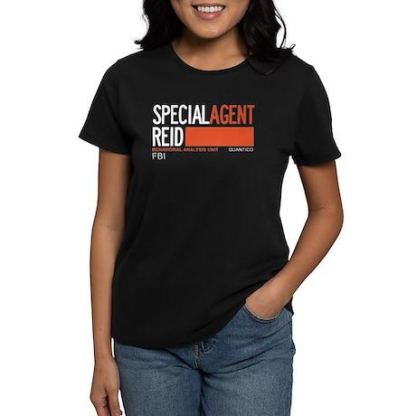 Special Agent Reid Criminal Minds Women's Dark T-S