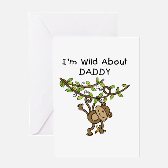 Wild About Daddy Greeting Card