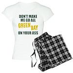 Green Bay Football Women's Light Pajamas