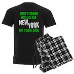 New York Football Men's Dark Pajamas