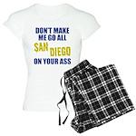 San Diego Football Women's Light Pajamas