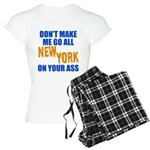 New York Baseball Women's Light Pajamas