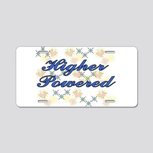 higher powered Aluminum License Plate