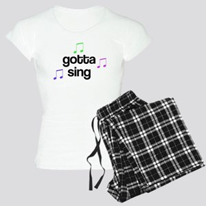 Gotta Sing Choir Women's Light Pajamas