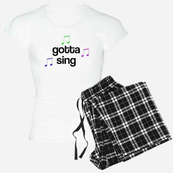 Gotta Sing Choir Pajamas