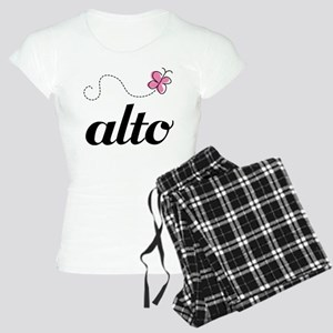Cute Alto Music Women's Light Pajamas