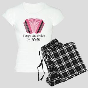 Future Accordion Player Women's Light Pajamas