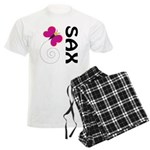 Fun Sax Butterfly Men's Light Pajamas