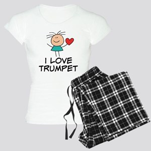 I Love Trumpet Women's Light Pajamas