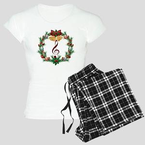 Treble Christmas Music Women's Light Pajamas