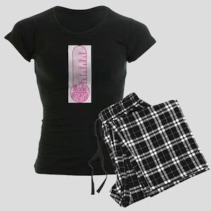 Drama Potential Thermometer Women's Dark Pajamas