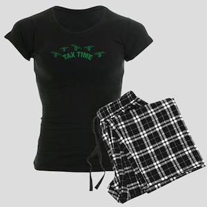 Tax Time Women's Dark Pajamas