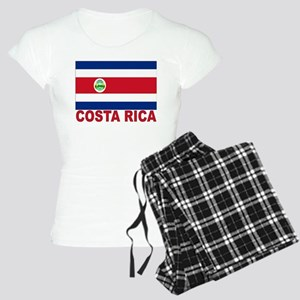 Costa Rica Flag Women's Light Pajamas