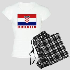Croatia Flag Women's Light Pajamas