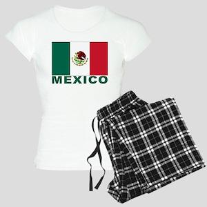 Mexico Flag Women's Light Pajamas
