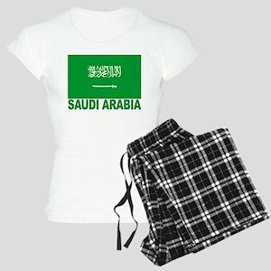 Saudi Arabia Flag Women's Light Pajamas