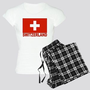 Switzerland Flag Women's Light Pajamas