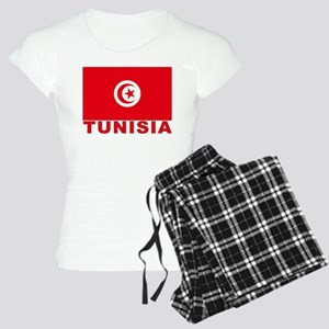 Tunisia Flag Women's Light Pajamas
