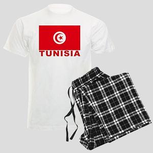 Tunisia Flag Men's Light Pajamas