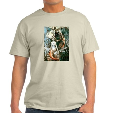 Diver and the Mermaids Light T-Shirt