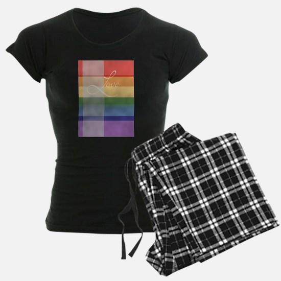 Mod Rainbow Love Pajamas