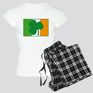 Shamrock Ireland Flag Women's Light Pajamas
