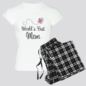 World's Best Mom Women's Light Pajamas