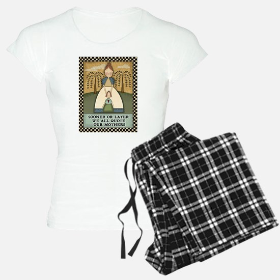 Funny Mother's Day Quote Pajamas