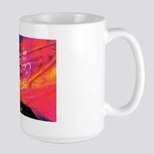 Escher Quote Pink Large Mug