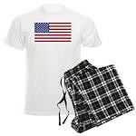 American Flag Men's Light Pajamas