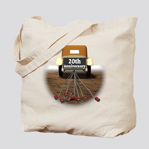 20th Wedding Anniversary Tote Bag