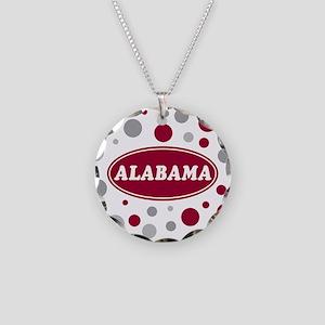 Celebrate Alabama Necklace Circle Charm